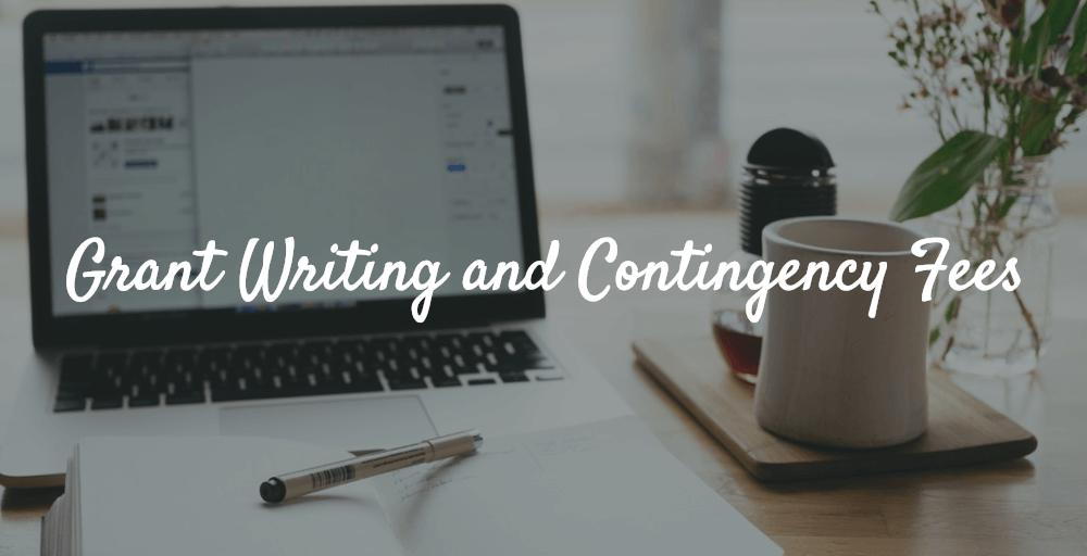 grant consultant fee schedule