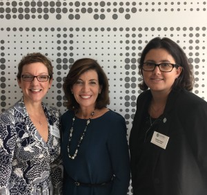 NAWBO Women business owners grab the Lt. Governor's ear