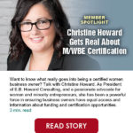 Want to know what really goes into being a certified women business owner?