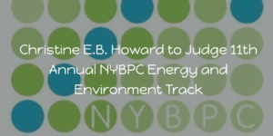 E.B. Howard Consulting Founder, Christine E.B. Howard, to Judge the 2020 NYBPC.