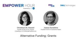 Christine gives a talk to Dell Women's Entrepreneur Network (DWEN) group